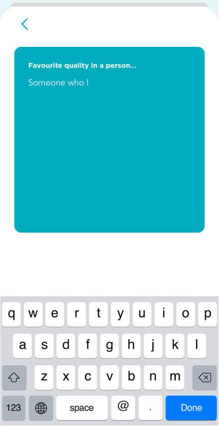 Fitafy App - Prompt Input Screenshot